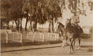 En la estancia El Cardal, 1926, saliendo para Nueva York