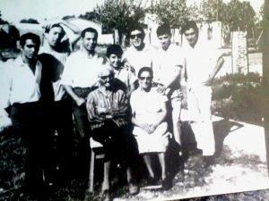 Hnos Diaz, Mecha Diaz, Ramona Torino y Juana Torino. Años 60