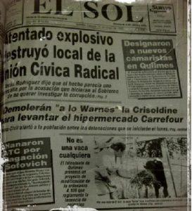 Archivo Diario El Sol 16 de mayo de 1992
