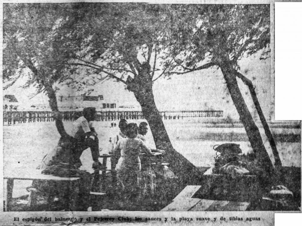 El Río de Quilmes, en 1957 (nota de Craviotto)